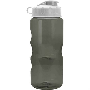 Mini Mountain Water Bottle 22-Oz. with Flip-Top Lid - Blank