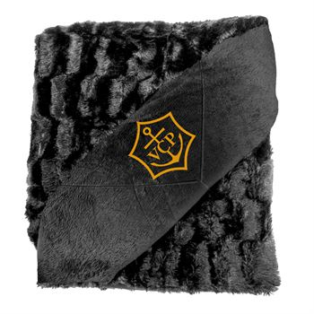 Faux Fur Blanket-Personalization Available