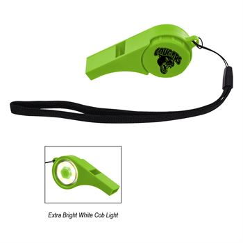 Safety Whistle With Light- Personalization Available