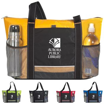 Icy Bright Cooler Tote- Personalization Available