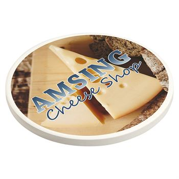 Cobblestone Absorbent Coaster with Cork Base- Personalization Available