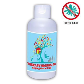 3 Oz. Hand Sanitizer - 80% Alcohol� with Antimicrobial Additive (in bottle) - Personalization Available