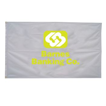 Nylon Flag (Single-Sided) - 2.5' x 4' - Full Color Personalization Available