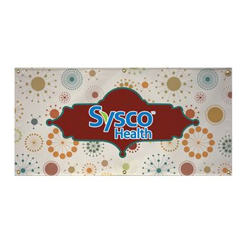 13 oz. Vinyl Banner (Single-Sided) - 2' x 6'- Personalization Available