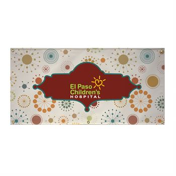 13 oz. Vinyl Banner (Single-Sided) - 3' x 8'-Personalization Available