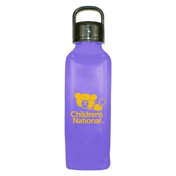 Classic Edge Bottle With Handle Lid 24 Oz. -Personalization Available