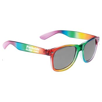 Rainbow Sun Ray Sunglasses- Personalization Available