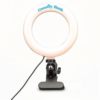 Webcam Ring Light-Personalization Available