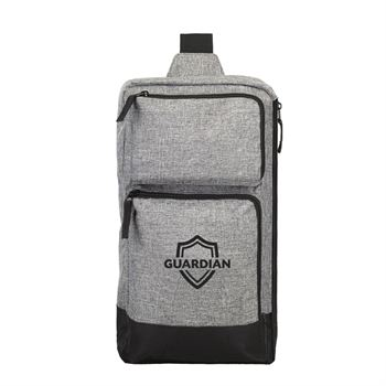 Multi-Pocket Metro Sling Bag- Personalization Available