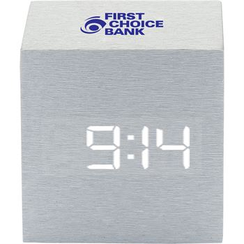 Cube Clock-Personalization Available