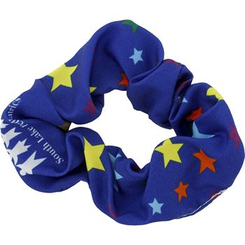 Full Color Hair Scrunchie-Personalization Available