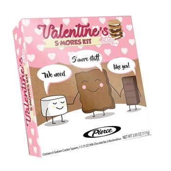 Valentines Day Smores Kit - Full Color Personalization Available