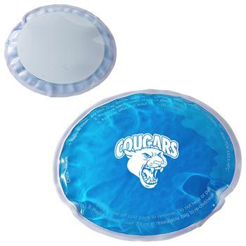 Round Re-stickable Cold Pack