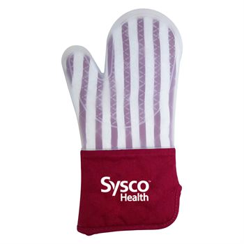 Frosted Silicone Oven Mitt