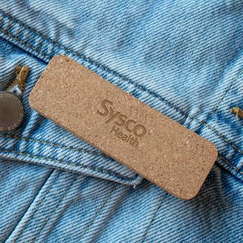 Napa Cork Name Badge