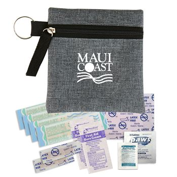 Heathered First Aid Kit- Personalization Available
