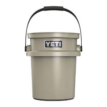 Tan Yeti 5 Gallon Loadout Bucket