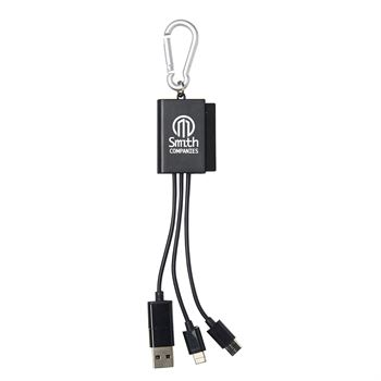 Clip'n Clean-It 3-in-1 Charging Cables