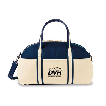 Nantucket Cotton Weekender Bag