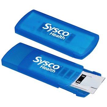 2-In-1 Temperature Strip + Bandage Dispenser - Personalization Available