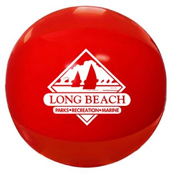 Solid Color Beach Ball