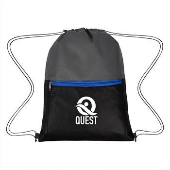 Triad Non-Woven Drawstring Bag-Personalization Available