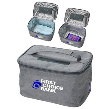 Pure Pak Portable and Collapsible UV-C Sanitizing Bag - Full Color Personalization Available
