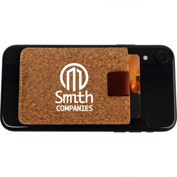 RFID Blocker Cork Cellphone Wallet - Personalization Available