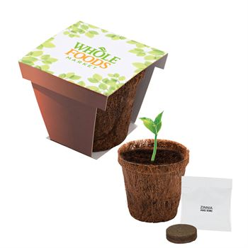 Coco Planter Kit - Full Color Personalization Available