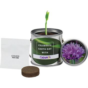 Paint Pail Planter Kit - Full Color Personalization Available