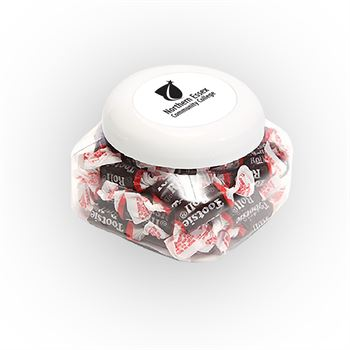 Tootsie Roll Candy Snack Canister Large-Personalization Available