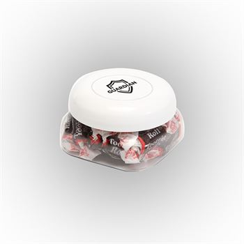 Tootsie Roll Candy Snack Canister Small-Personalization Available