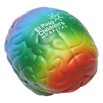 Rainbow Brain Stress Reliever- Personalization Available