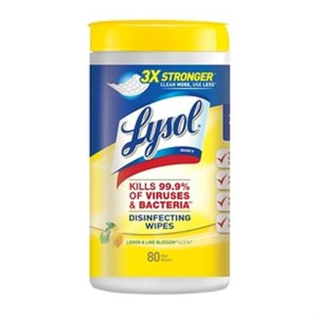 Lysol Wipes 80 Count - Canister
