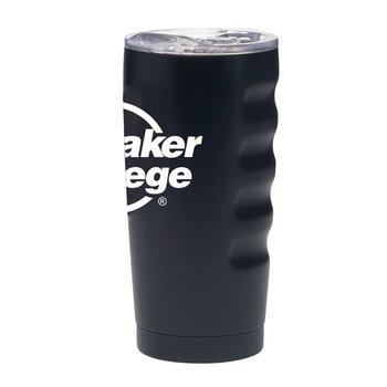 Stainless Steel Wrinkle Grip Vacuum Tumbler 20 oz.