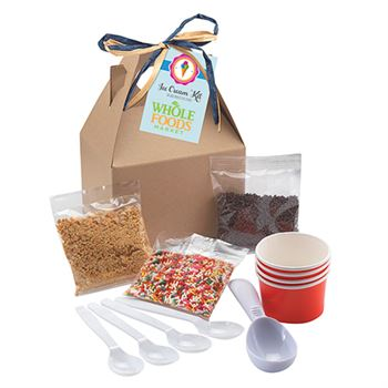 Do-It-Yourself Ice Cream Kit in Gable Box - Full Color