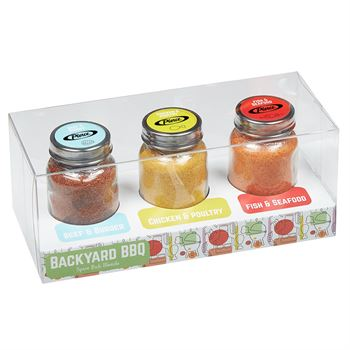 Spice Rub Gift Set - Full Color