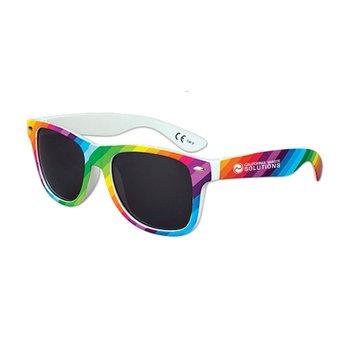 Rainbow Stripe Sunglasses - Personalization Available