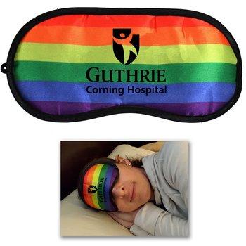 Rainbow Sleep Mask - Personalization Available