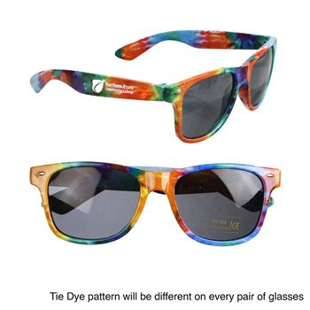Tie-Dye Sunglasses - Personalization Available