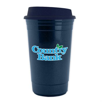 Explorer Double Wall Insulated Coffee Cup with Lid - 15oz
