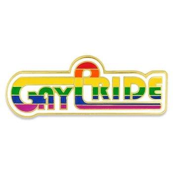 Rainbow Gay Pride Lapel Pin