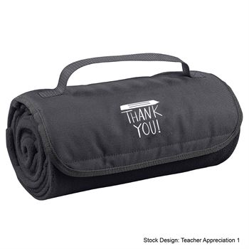 Teachers Appreciation Roll-Up Blanket