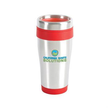 Blue Monday Travel Tumbler 16-Oz.-Full Color Personalization      Available