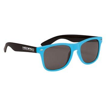 Two-Tone Valencia Malibu Sunglasses