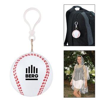 Baseball Fanatic Poncho - Personalization Available