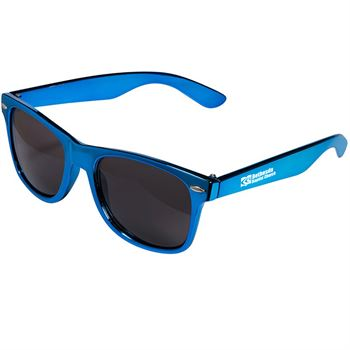 Metallic Matdi Gras Sunglasses