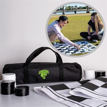 Giant Checkers Game Set