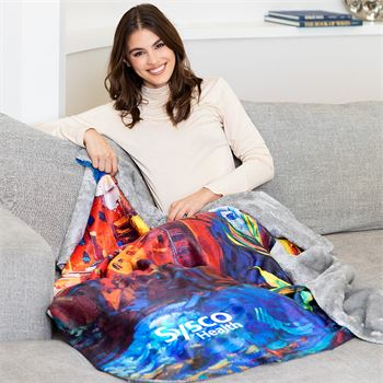 Luxe Sherpa Sublimated Throw - Personalization Available