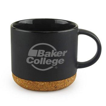 Big Cork Ceramic Mug - Personalization Available